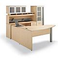 Buy Wood Desks, Laminate Desks, Office Suites, and L-shaped Desks from www.myofficeone.com