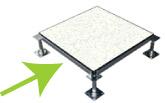 Raised flooring stringer image